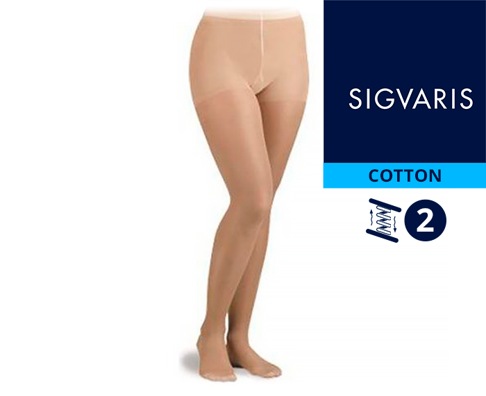 Колготы CO2 Sigvaris COTTON 2 класс компрессии