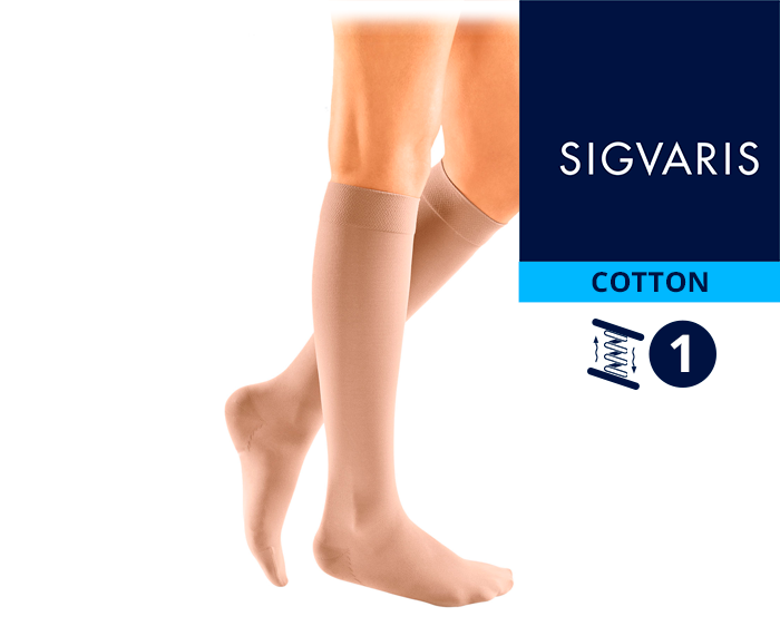 Гольфы CO1 Sigvaris COTTON 1 класс компрессии